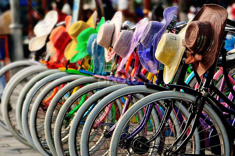 Rainbikes by Franky Go - Transportation Bicycles ( bike, colorful, rainbow, bicycle, , Bicycle, Sport, Transportation, Cycle, Bike, ResourceMagazine, Outdoors, Exercise, Two Wheels )