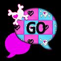 GO SMS THEME/ValentineSkulls1 icon