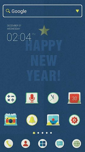 HAPPY NEW YEAR dodol theme