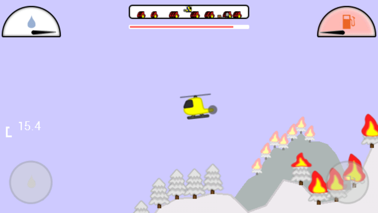 Fire Helicopter - screenshot