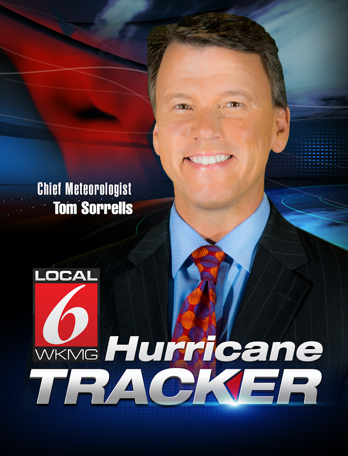 Hurricane Tracker WKMG Orlando - screenshot