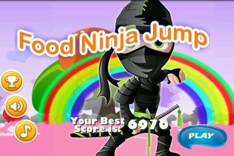 Food Ninja Jump-Free