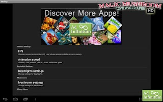Screenshot of Magic Mushrooms LWP HD