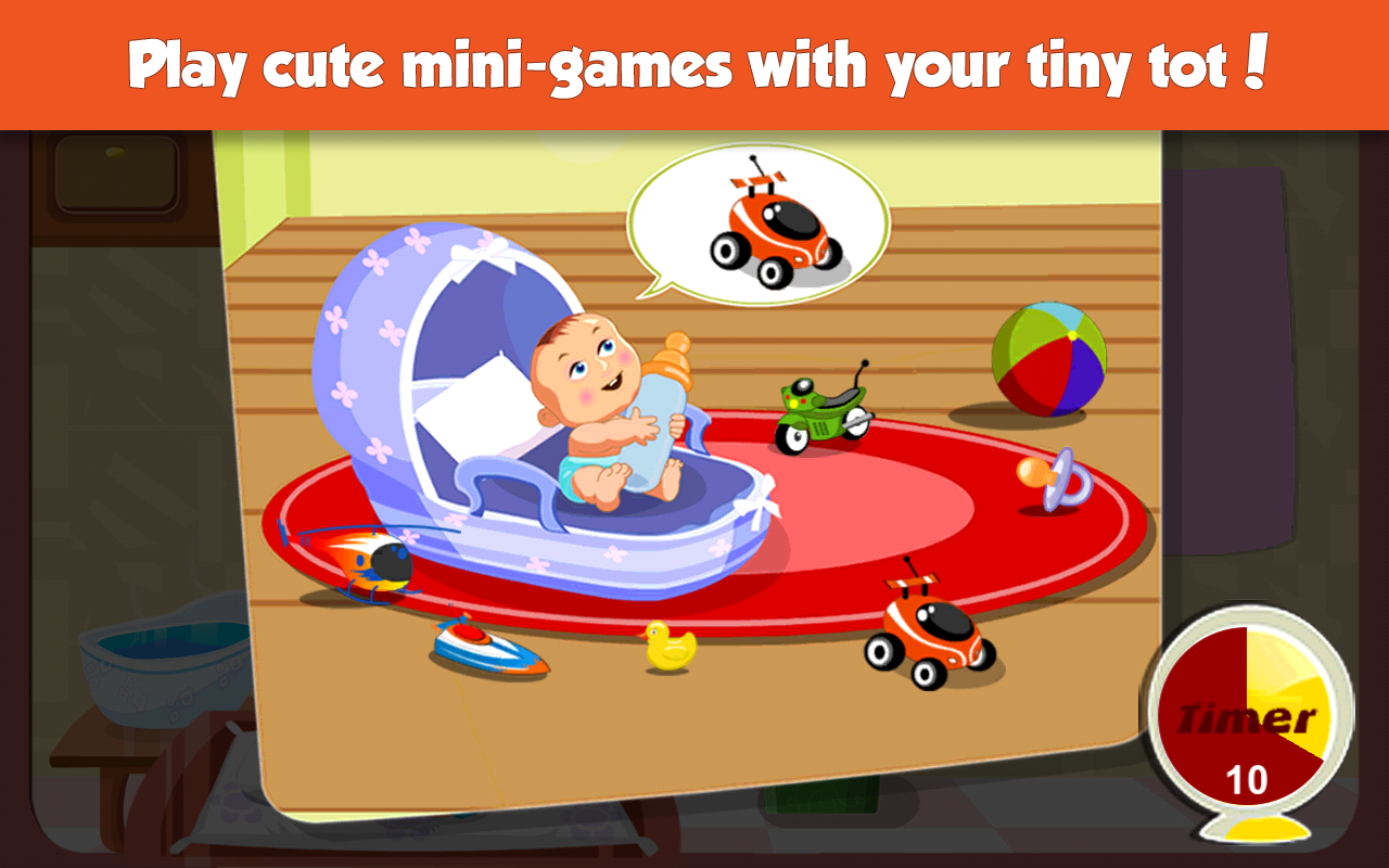 Supermom - Baby Care Game- screenshot