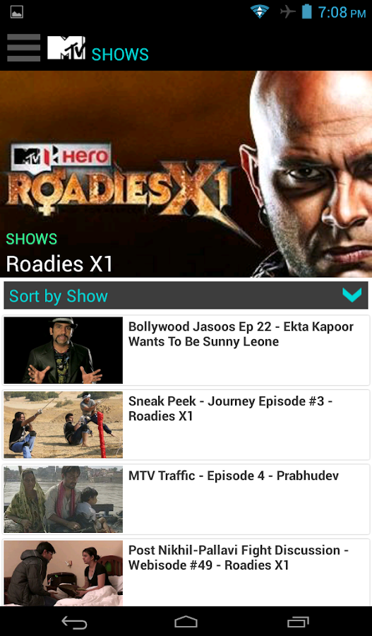 MTV India- screenshot