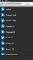 Screenshot of 3D Sound Effects