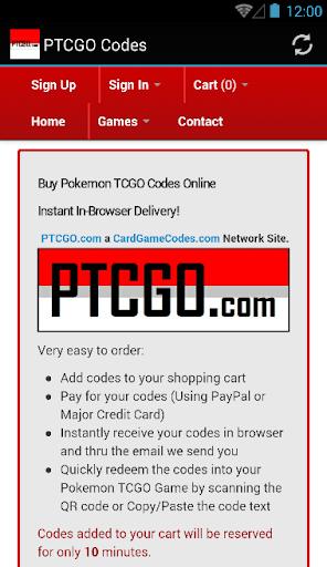 PTCGO Pokemon TCG Online CODES