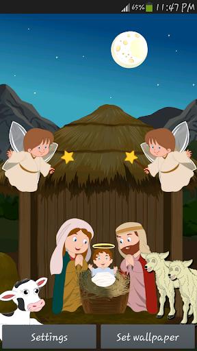 Jesus Birth Live Wallpaper