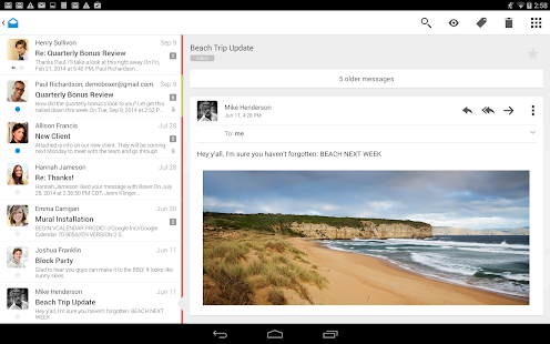 Boxer - Free Email Inbox App Screenshot 16