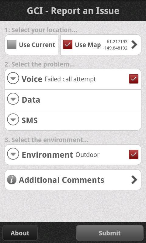 ReportIt- screenshot