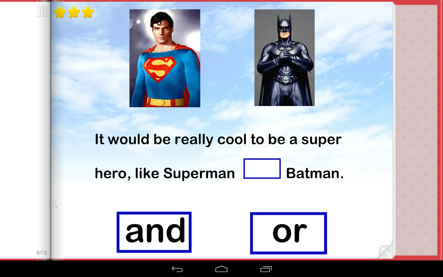 English For Kids Conjunctions Android Apps On Google Play