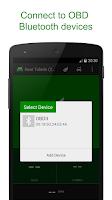 Screenshot of EcoShifter OBD2 Connected Car