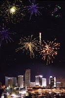 Screenshot of Fireworks