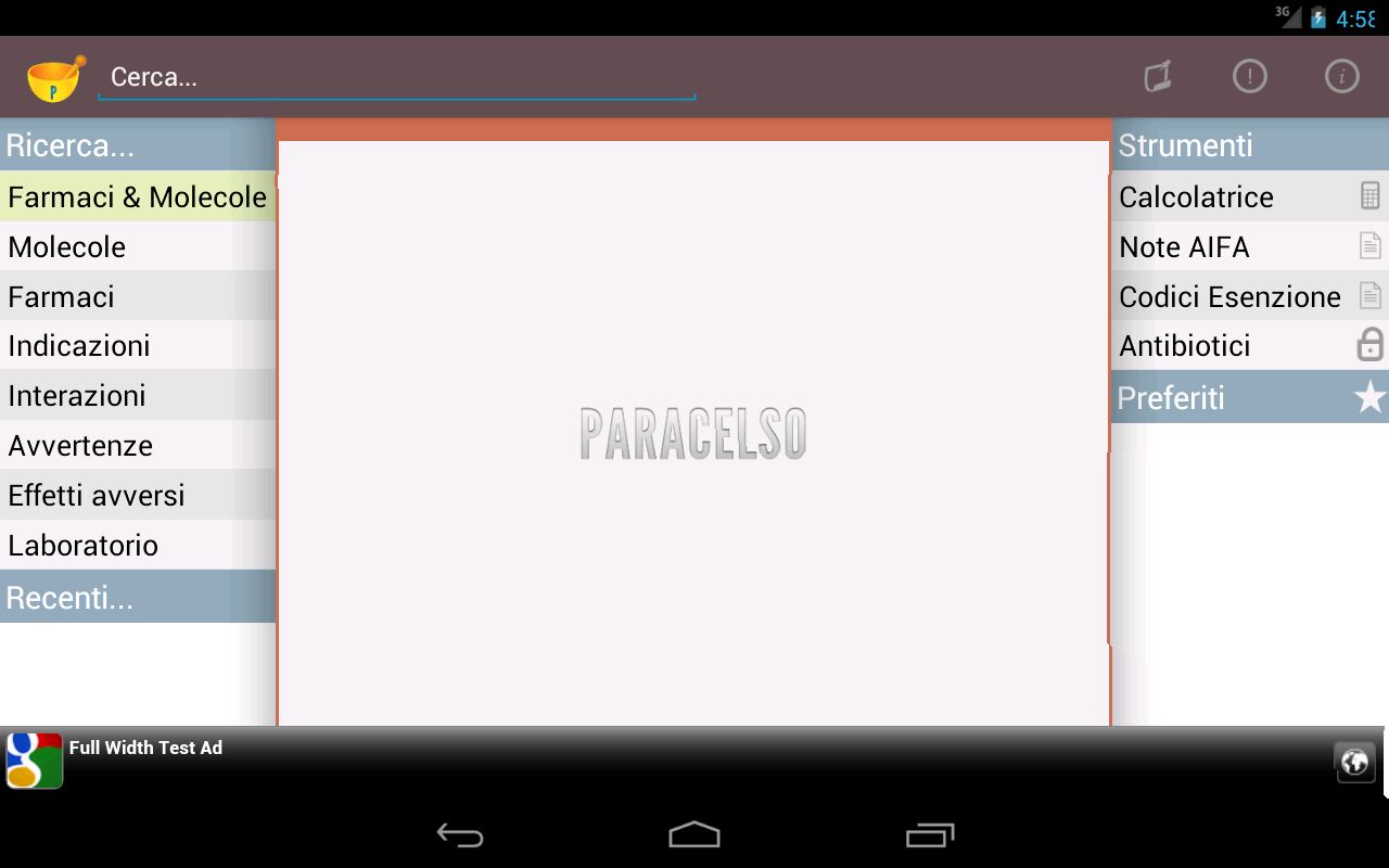 Paracelso- screenshot