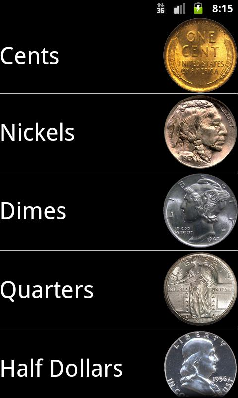 US Coins- screenshot