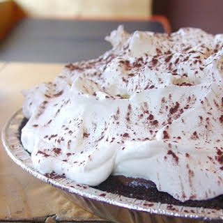 Classic Diner-Style Chocolate Pie.