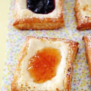 Easy Puff Pastry Cheese Danish.