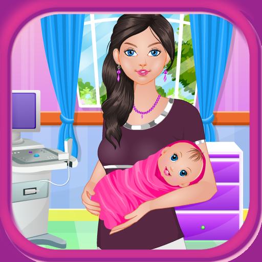 休闲の赤ちゃん誕生の女の子のゲーム LOGO-記事Game