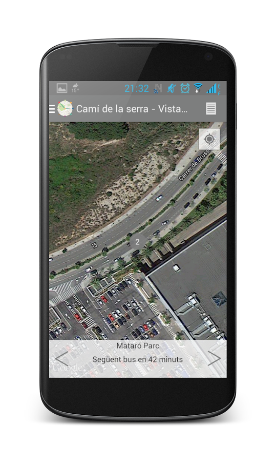 Mataró bus- screenshot