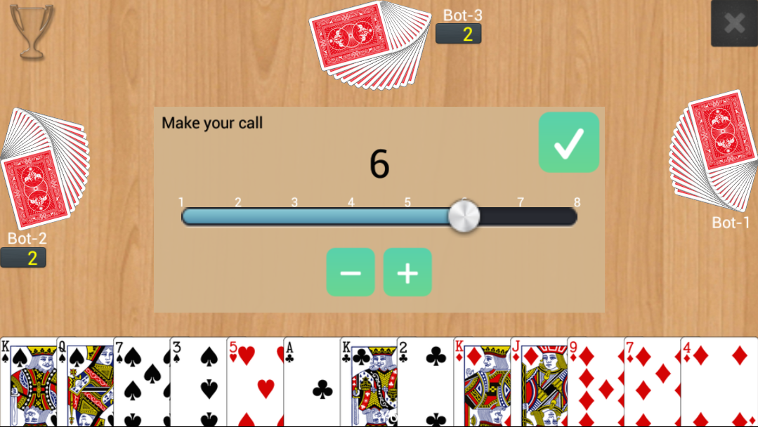 Callbreak Multiplayer screenshots