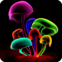 3D Mushrooms LWP logo