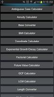 Screenshot of Calculator++