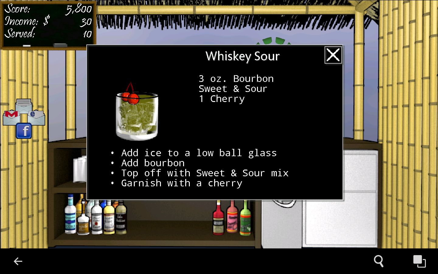 Tiki Bar: Free Bartender Game - screenshot