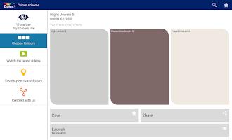 Screenshot of Dulux Visualizer IE