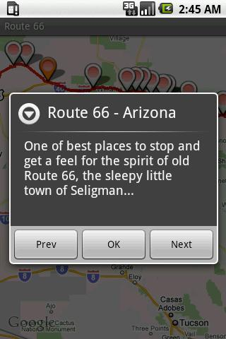Route 66- screenshot