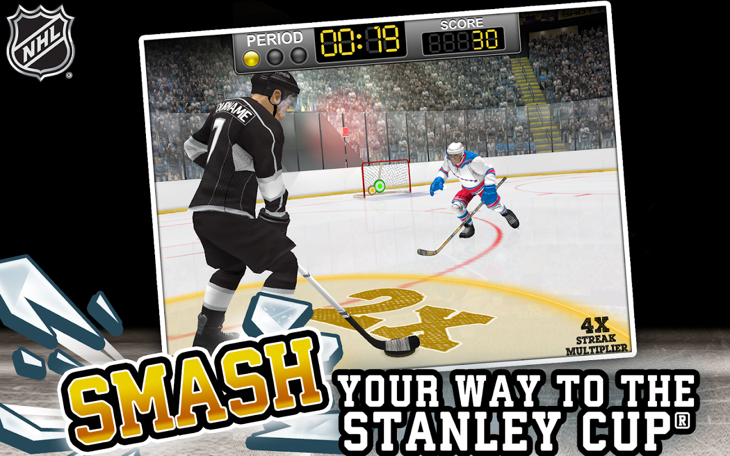 NHL Hockey Target Smash - screenshot