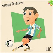Go Launcher Ex Messi Theme