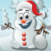 Frozen - Snowman Knockdown