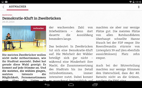 Pfälzischer Merkur Digital- screenshot thumbnail