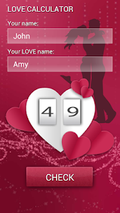 Your Love Test Calculator screenshot