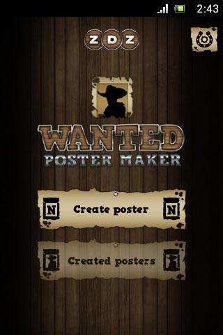Wanted Poster Maker Editor