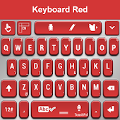 TouchPal Red Keyboard