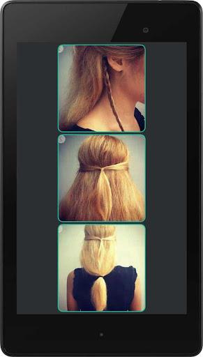 简单的发型 - 教训