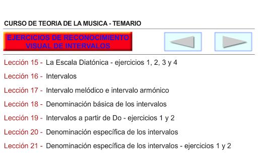 CURSO DE TEORIA DE LA MUSICA 1.0.19 screenshots 3