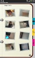 Screenshot of Photo Notes Tablet