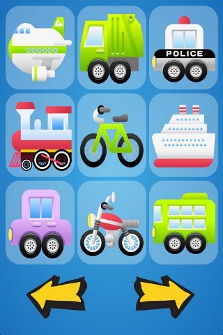 Vehicle Sounds for Babies- screenshot