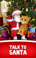 Screenshot of Talking Santa meets Ginger