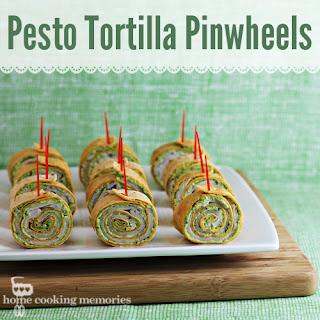 Pesto Tortilla Pinwheels