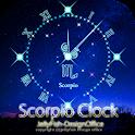 12星座☆蠍座アナログ時計ウィジェット icon