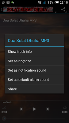 Solat Dhuha & Kelebihannya - screenshot
