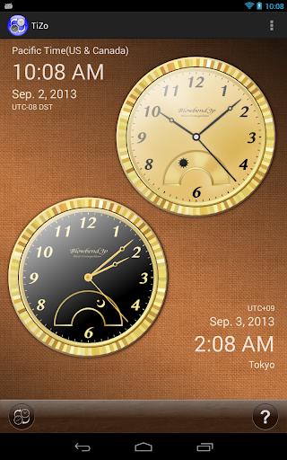 TiZo(world time clock) 1.5.3 Windows u7528 4