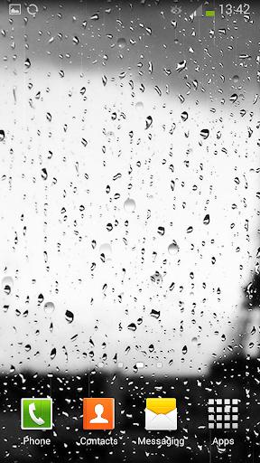 免費個人化App|Rain on Glass Live Wallpaper|阿達玩APP