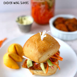 General Tso's Chicken Wing Sliders.