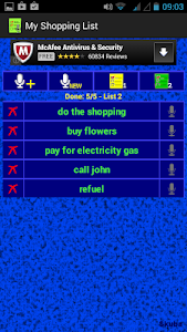 My Shopping List screenshot 4