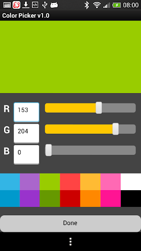【免費生產應用App】Color Picker for developers-APP點子