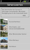 Screenshot of Göttingen
